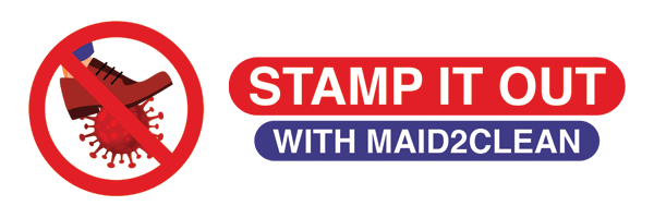Stamp out COVID19 with Maid2Clean