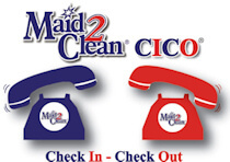 Maid2Clean Check In Check Out